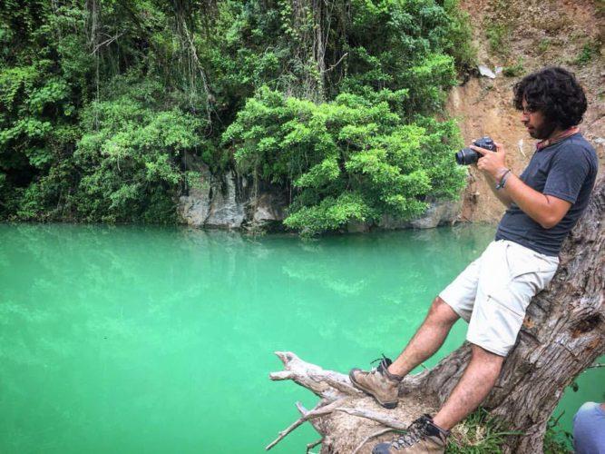 La Poza Azul, la cascada y las cuevas de Llano Largo, Ocotepeque